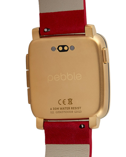 Smartwatch Time Steel 511-00036 pebble Damen,Herren Leder 855906004481