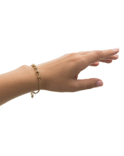 Armband Little Hint Messing Pilgrim gold  5707050045597