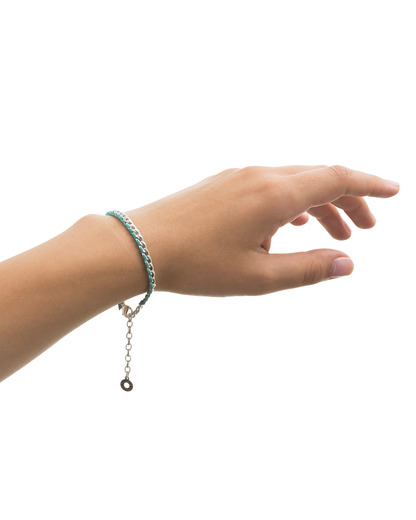 Armband Honestly Messing Pilgrim blau,silber  5707050046228