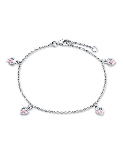 Armband 925 Sterling Silber-Zirkonia Prinzessin Lillifee 4020689065875