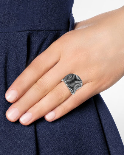 Ring Pixel aus 925 Sterling Silber Pesavento silber  8052740928337