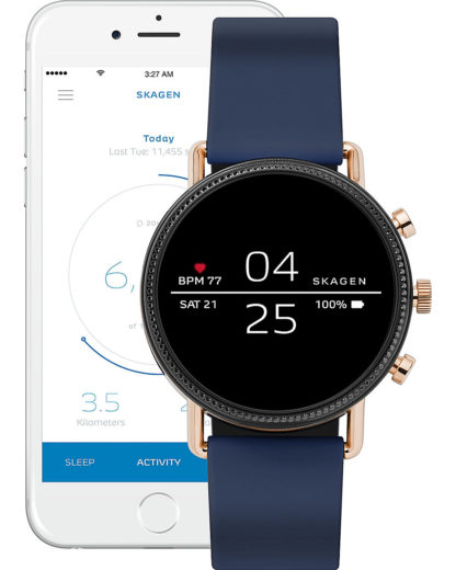 Smartwatch SKT5110 SKAGEN CONNECTED Blau 4013496524475