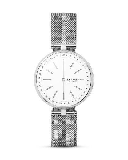 Hybrid-Smartwatch Signatur T-Bar SKT1400 SKAGEN CONNECTED silber,weiß 4053858941489