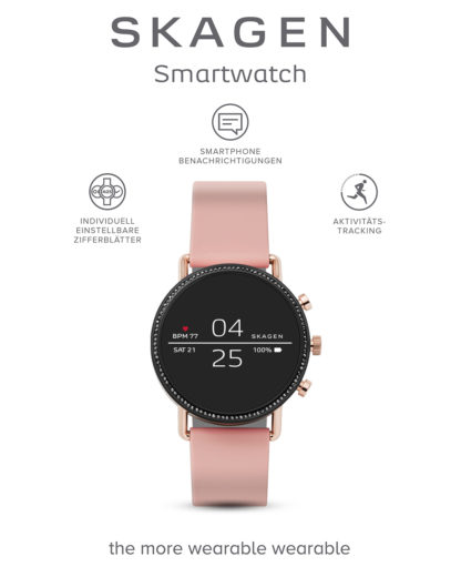 Smartwatch Falster 2 SKT5107 SKAGEN CONNECTED rosa,roségold 4013496208672