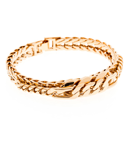 Armband Rich Chain Messing vergoldet Sabrina Dehoff 4250945506440