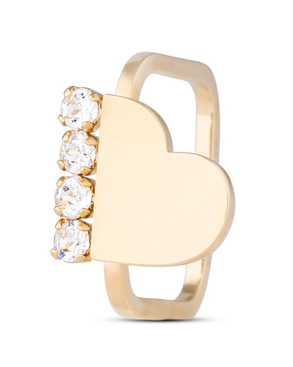 Ring Heart Lightening Swarovski-Stein Sabrina Dehoff
