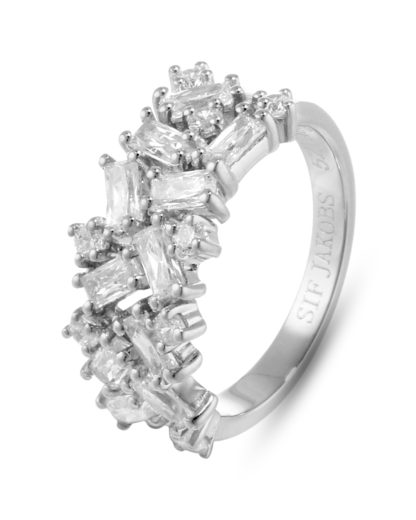 Ring Antella aus 925 Sterling Silber mit Zirkonia SIF JAKOBS JEWELLERY