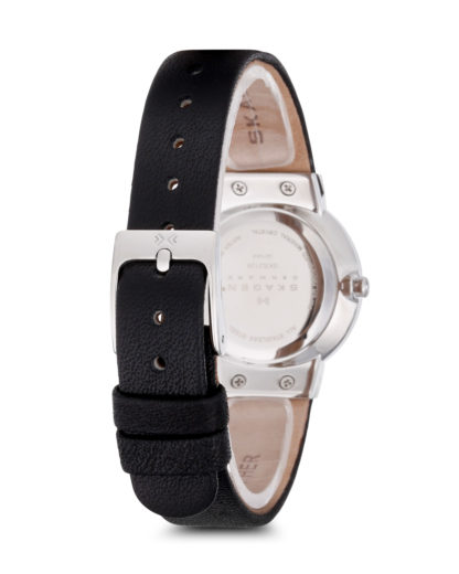 Quarzuhr Ancher SKW2193 SKAGEN Damen Leder 4053858286696