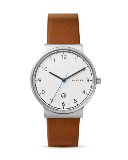 Quarzuhr Ancher SKW6433 SKAGEN Braun 4053858939745