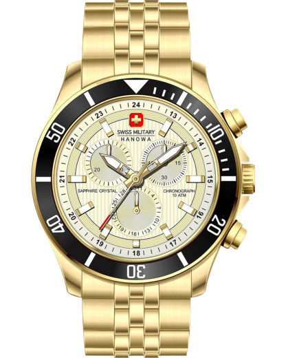 Quarzuhr 06-5331.02.002 Swiss Military Hanowa gold 7620958000698
