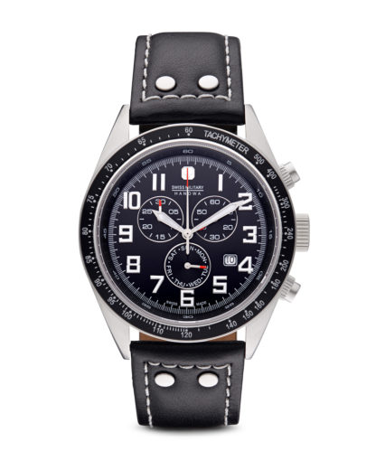 Chronograph New Legend 06-419704007 Swiss Military Hanowa schwarz,silber 7612657032278