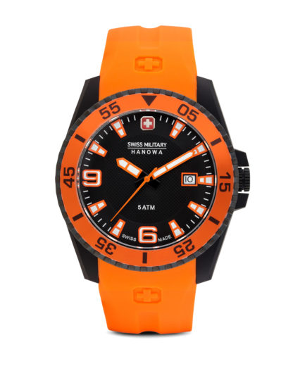 Quarzuhr Ranger 06-42002700779 Swiss Military Hanowa orange,schwarz 7612657032407