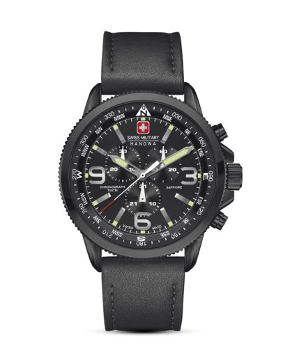 Chronograph Arrow 06-422413007 Swiss Military Hanowa schwarz 7612657084154