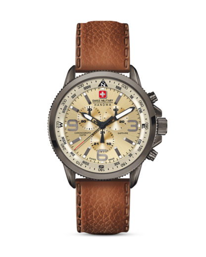 Chronograph Arrow 06-422430002 Swiss Military Hanowa beige,braun,grau 7612657084161