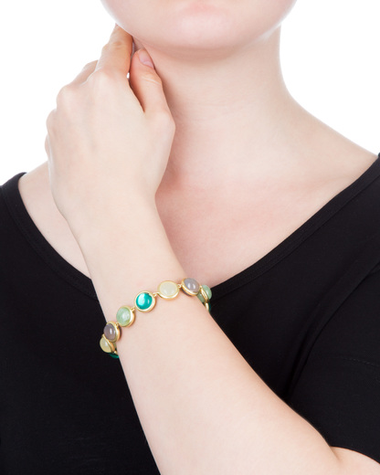 Armband Hope Messing SENCE Copenhagen gold Quarz,Achat 7640155218559