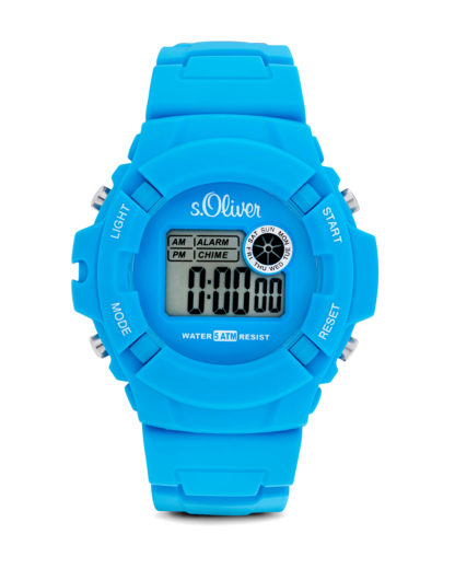 Digitaluhr Casual SO-2386-PQ s.Oliver blau 4035608022440