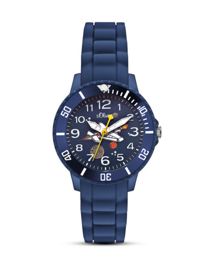 Quarzuhr SO-2590-PQ s.Oliver Junior blau 4035608024529