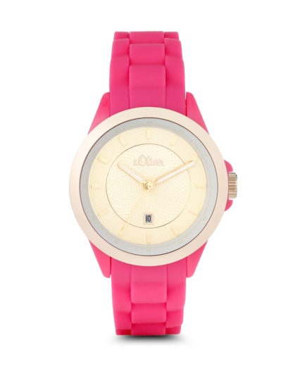 Quarzuhr SO-2910-PQ s.Oliver gold,pink,rosa 4035608027681