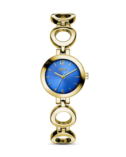 Quarzuhr SO-3070-MQ s.Oliver blau,gold 4035608029289
