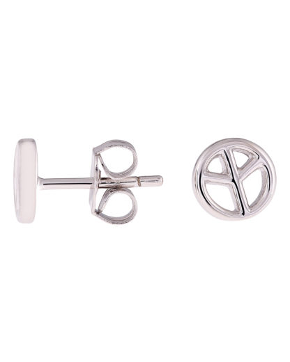 Ohrstecker Peace 925 Sterling Silber s.Oliver Junior 4020689058099