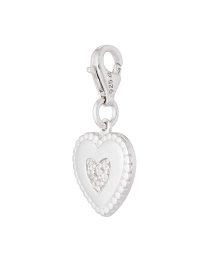 Charm 925 Sterling Silber-Zirkonia s.Oliver silber Zirkonia 4020689955343