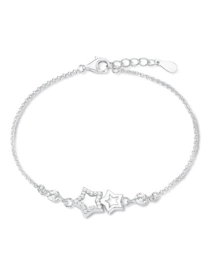 Armband aus 925 Sterling Silber mit Zirkonia amor 4020689261611