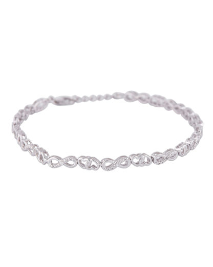 Armband aus 925 Sterling Silber mit Zirkonia amor 4020689292219