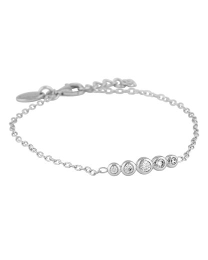 Armband aus 925 Sterling Silber mit Zirkonia s.Oliver 4020689249763