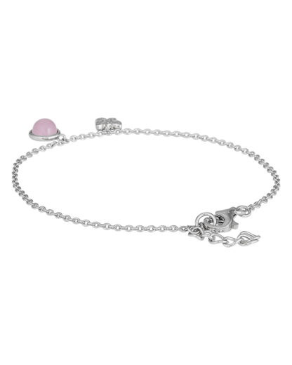 Armband aus 925 Sterling Silber s.Oliver Junior rosa,silber,weiß Glas,Zirkonia 4020689233502