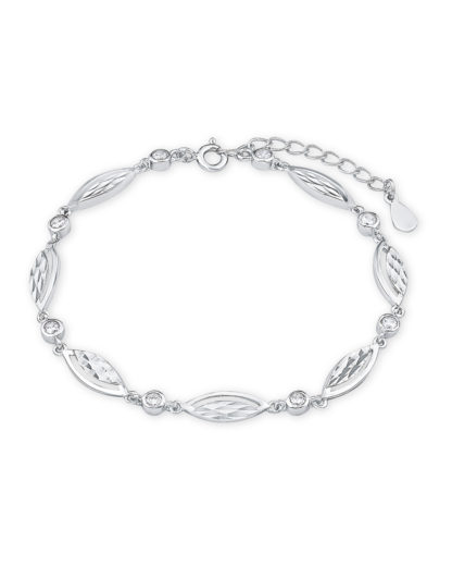 Armband aus 925 Sterling Silber mit Zirkonia amor 4020689297467
