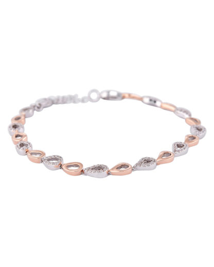 Armband aus 925 Sterling Silber mit Zirkonia amor 4020689556182