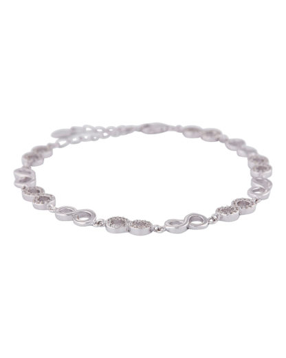 Armband aus 925 Sterling Silber mit Zirkonia amor 4020689271283