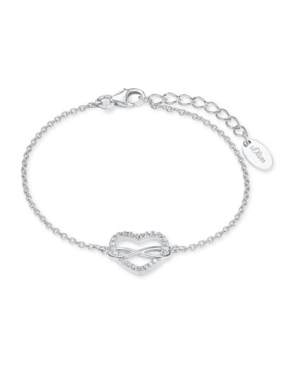 Armband aus 925 Sterling Silber mit Zirkonia s.Oliver 4056867009874