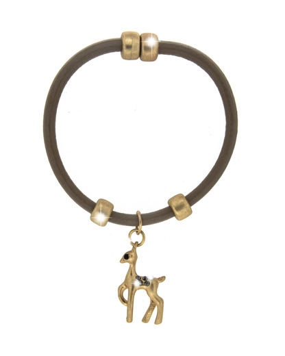 Armband Wiesn Leder Reh Sweet Deluxe 4052478038999