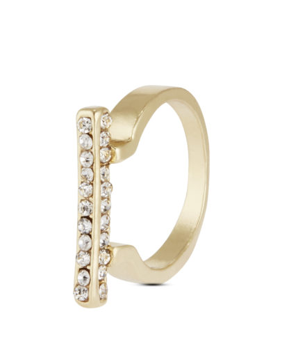 Ringe aus Messing Sweet Deluxe gold,weiß Glas 4052478063342