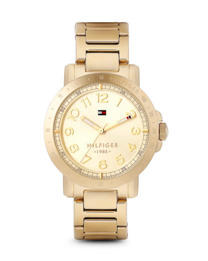 Quarzuhr BRISBANE MULTIEYE 1781395 Tommy Hilfiger gold 7613272110938