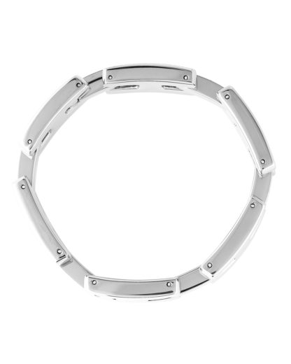 Armband Classic Signature Edelstahl Tommy Hilfiger silber  7613272168236