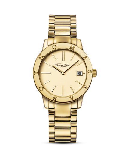 Quarzuhr WA0174-264-207-33 mm THOMAS SABO gold 4051245085952