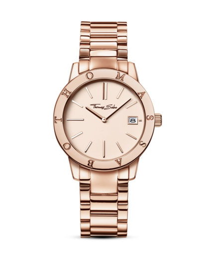 Quarzuhr WA0175-265-208-33 mm THOMAS SABO roségold 4051245085969