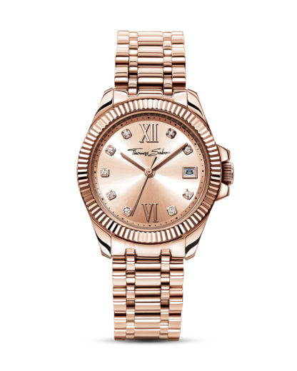 Quarzuhr Glam & Soul WA0220-265-208-33 mm THOMAS SABO roségold 4051245156362