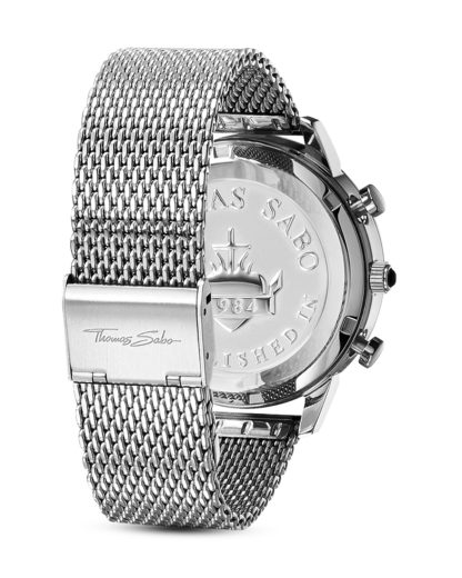 Chronograph Rebel Spirit WA0245-201-203-42 mm THOMAS SABO Herren Edelstahl 4051245219708