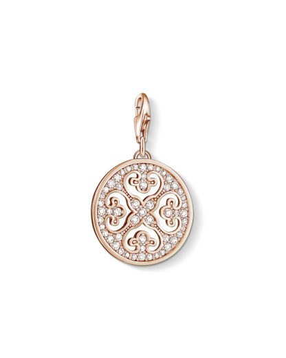 Charm Ornament Arabesk 925 Sterling Silber-Zirkonia THOMAS SABO CHARM CLUB 4051245105254