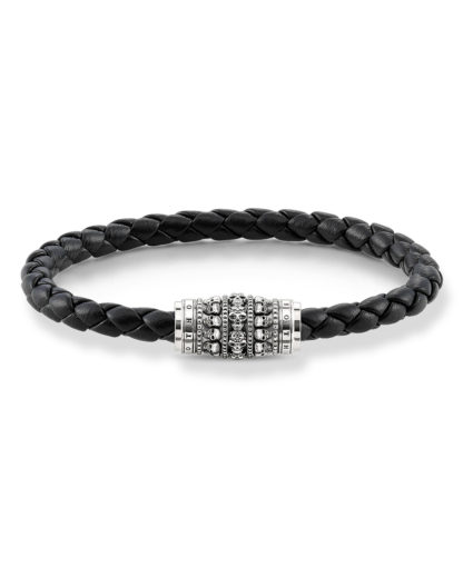 Armband Rebel at Heart aus Leder & 925 Sterling Silber THOMAS SABO 4051245198492