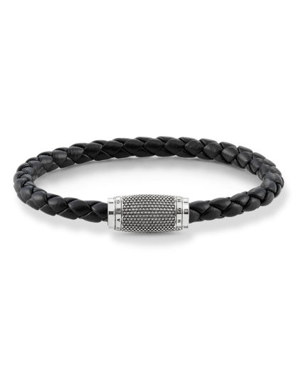 Armband Rebel at Heart aus Leder & 925 Sterling Silber THOMAS SABO 4051245198577