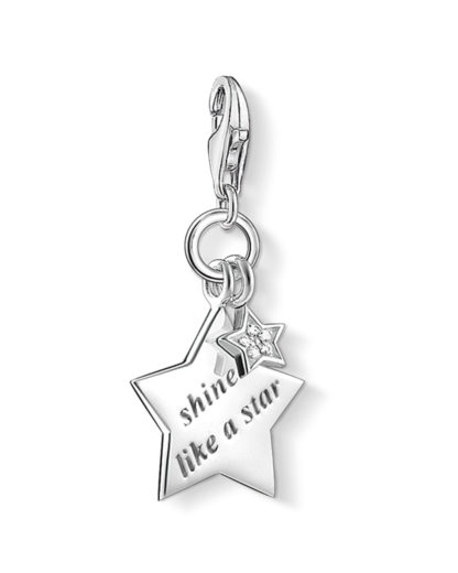 Charm aus 925 Sterling Silber & Diamanten THOMAS SABO CHARM CLUB 4051245207613