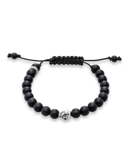 Armband Rebel at Heart mit Obsidianen  THOMAS SABO