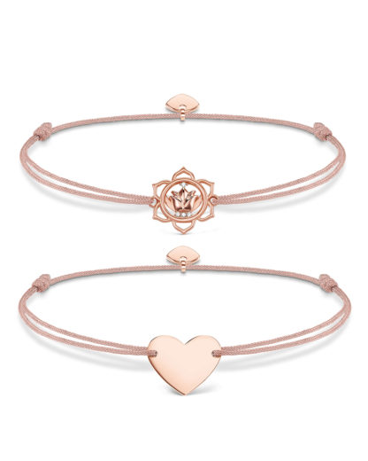 THOMAS SABO Set mit Armbändern Little Secret aus Nylon