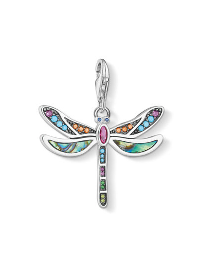 Charm aus 925 Sterling Silber & Abalone mit Zirkonia THOMAS SABO 4051245433586