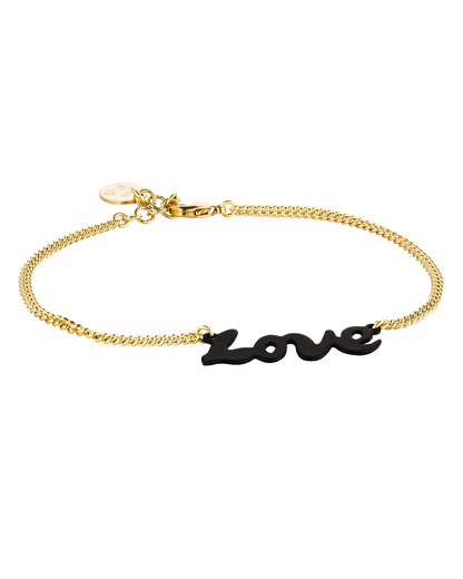 Armband Love Messing TomShot 4250945501506