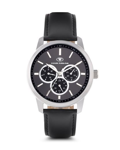 Quarzuhr 5410405 TOM TAILOR schwarz 3660895700569
